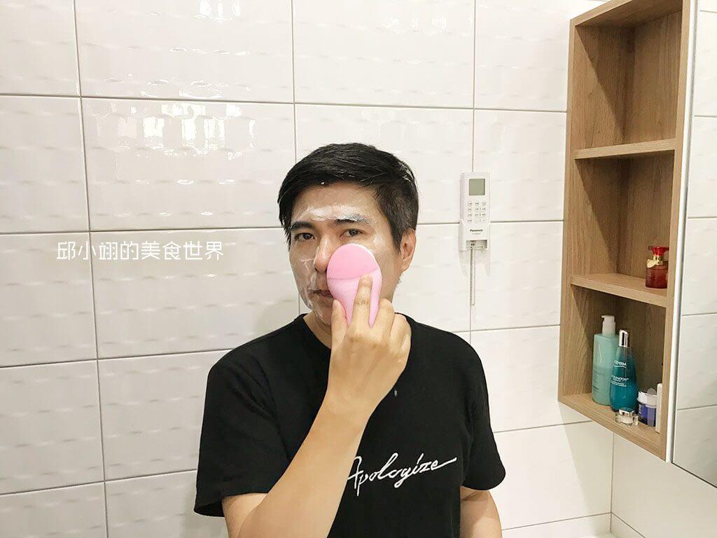教你如何深层清洁毛孔-PISEN洗脸神器开箱-23