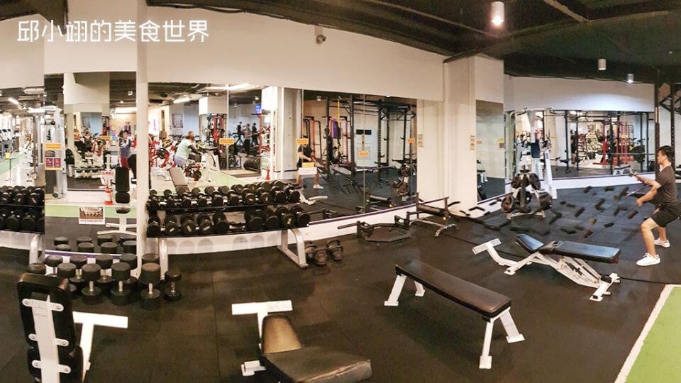 重量訓練區
