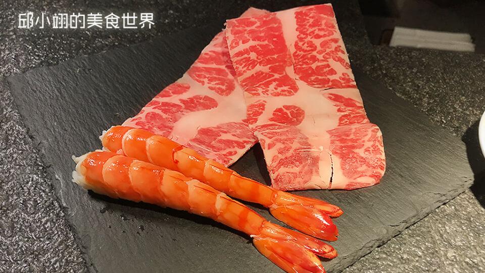 張烈焰牛小排鮮蝦