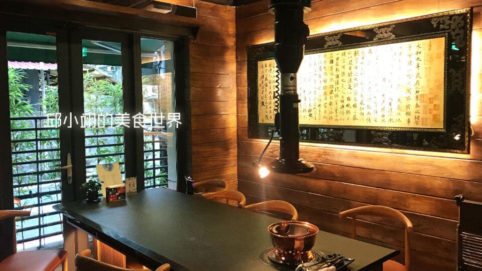 這區是屬於可容納較多客人的VIP餐區