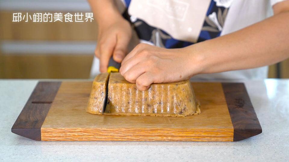 菜刀在切蘿蔔糕之前,記得先上點芝麻油