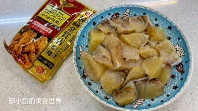 龍膽石斑魚嫩肉和地瓜粉