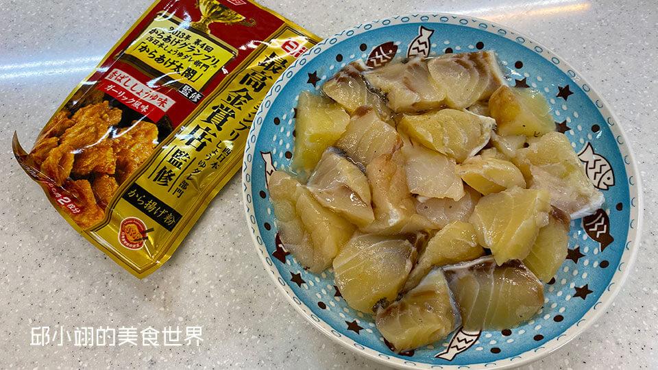 龍膽石斑魚嫩肉和起司脆酥粉