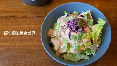義式生菜沙拉佐千島醬
