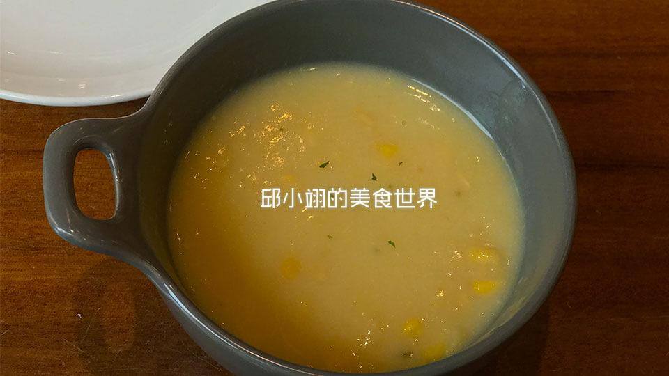 B套餐之玉米浓汤