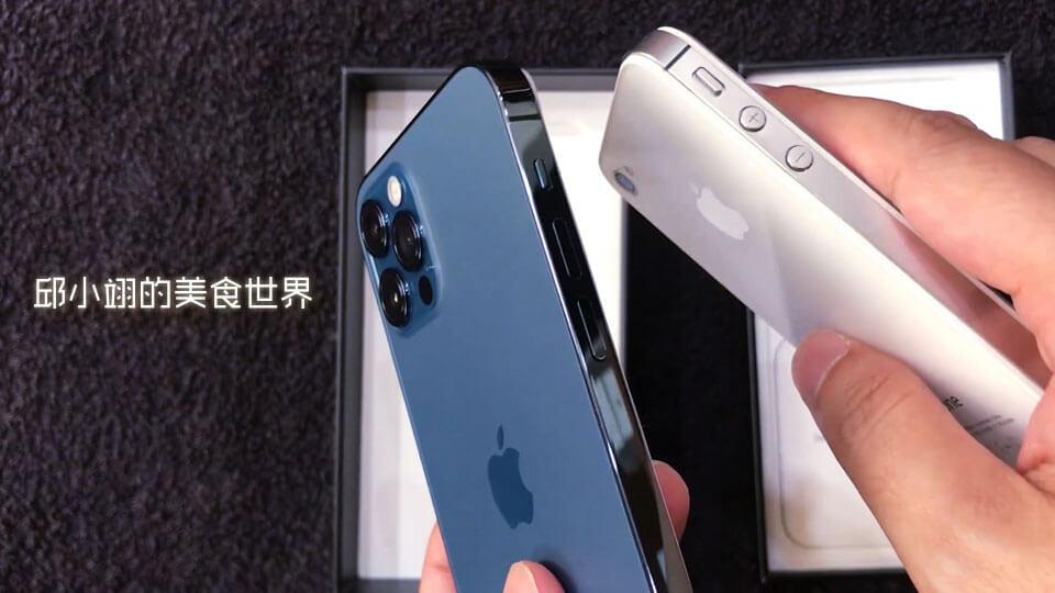 这次iPhone12系列的边框设计感觉是致敬了iPhone 4的经典边框设计