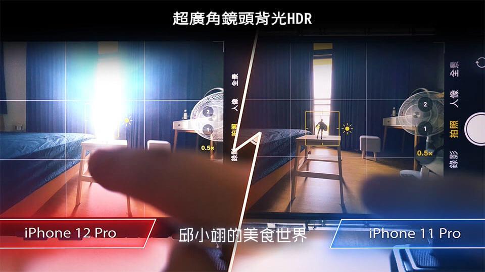 超广角镜头HDR逆光测试